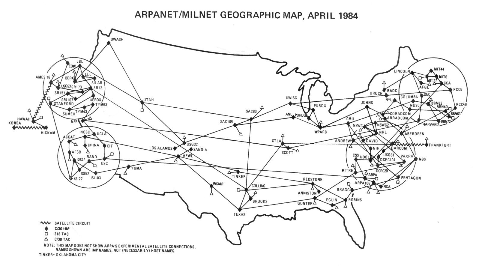 Hitos en la historia de internet