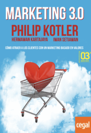 Libros de marketing_Marketing 3.0 Kotler, Philip / Kartajaya, Hermawan / Iwan Setiawan