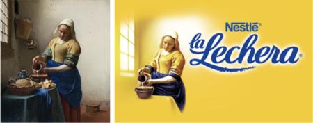 Campañas de publicidad_Johannes Vermeer_la lechera