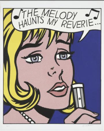 Roy Lichtenstein_The Melody Haunts My Reverie