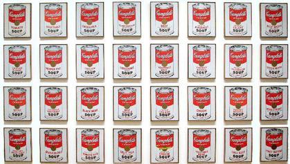 Latas de Sopa Campbell (1962)
