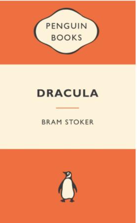 Portada de Drácula de Bram Stoker de la editorial Penguin