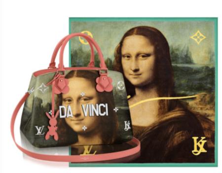 Bolsos diseñador por Jeff Koons para Louis Vuitton