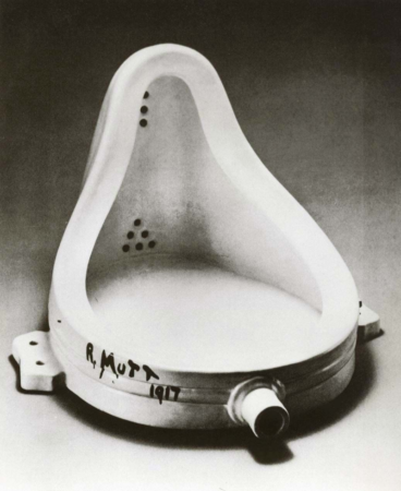 Influencias-Marketing-Digital-Marcel-Duchamp-Fuente-Francia-1917