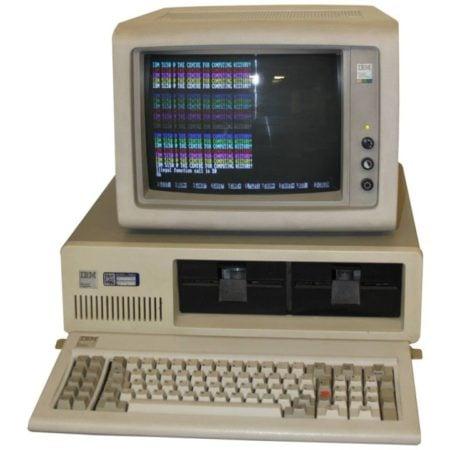 historia del marketing digital_Nacimiento de la IBM PC modelo 5150