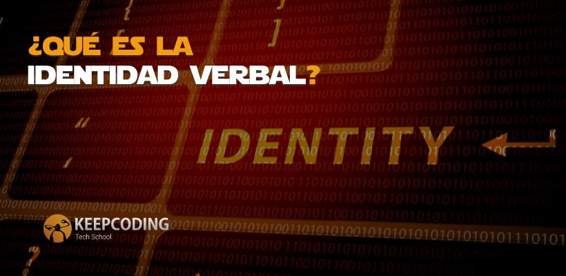 Identidad verbal