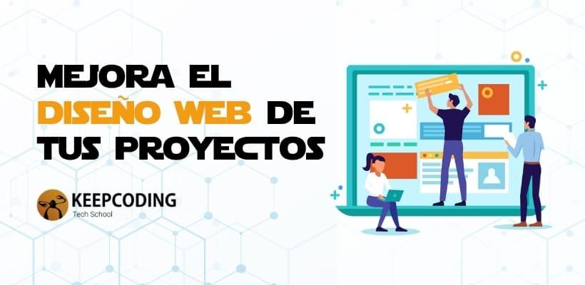 mejorar el diseño web de tus proyectos