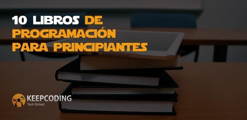10 libros de programación para principiantes
